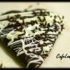 Bol çikolatalı ve süslü kurabiye...