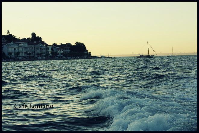 Burgazada, Kalpazankaya'ya tekne ile giderken