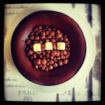 Çikolatalı Cheesecake ile doğumgünü kutlaması...