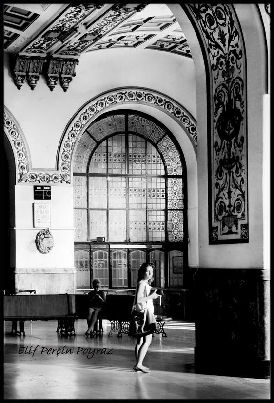 Elif Perçin Poyraz Haydarpaşa fotoğrafları