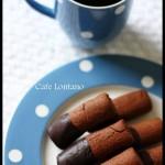 Pasta kitabına giden yolda güzel tarifler: Çikolatalı parmak kurabiye