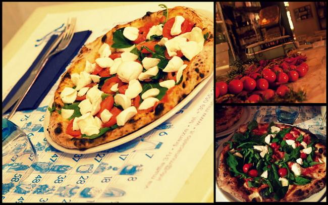 Floransa'dan bir pizza
