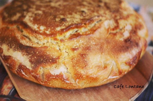 Ekşi mayalı somun ekmek 1