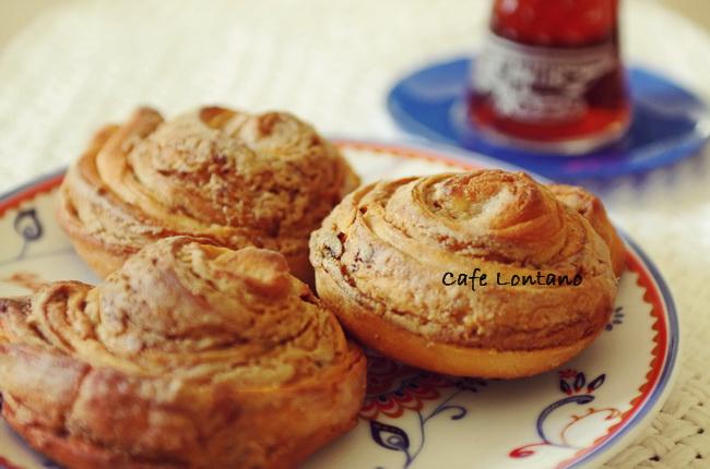 Tahinli Ballı Tarçınlı Çörek 2