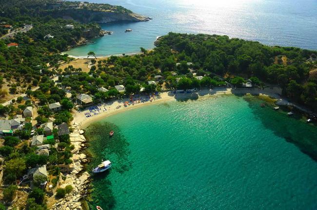 Thassos Adası'nın güzellikleri