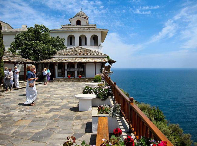 thassos manastır