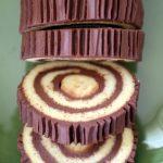 Nostaljik Pasta; Çikolatalı ve Muzlu Rulo Pasta