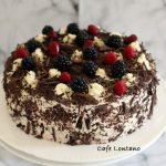 Yeni Bir yıl ve Kara Orman Pastası
