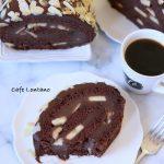 Çikolatalı, Muzlu ve Bademli Rulo Pasta