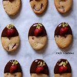Çikolata Kaplı Çilekli Mekiklerle Fransız Bir Esinti