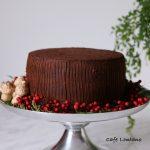 Çikolatalı ve Kestaneli Yeni Yıl Pastası