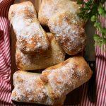 Ekşi Mayalı İtalyan Ciabatta Ekmeği